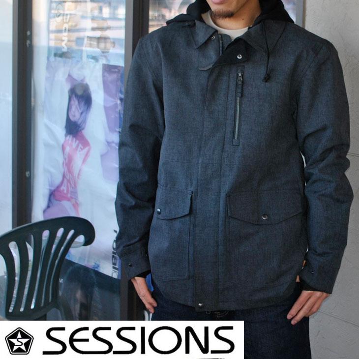 17-18 SESSIONS (セッションズ ) メンズ スノーボード ウエア 【LITHIUM JACKET 】ジャケット ウェア 日本正規品