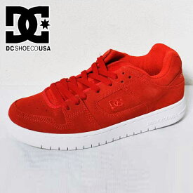 DC スニーカー ディーシー シューズ 【MANTECA LE マンテカ 】【Red 】 600 靴 メンズ ディーシーシュー 【返品種別OUTLET】