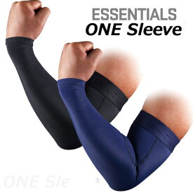 SKINS (スキンズ )ESSENTIALS エッセンシャルユニセックス ONE Sleeve ワンスリーブ 片腕用【返品種別OUTLET】