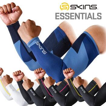 SKINSスキンズアームカバーESSENTIALSユニセックススポーツスリーブ(19SS)【正規品】