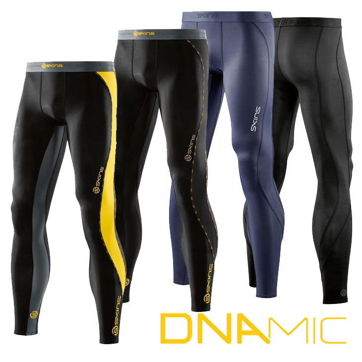 スキンズ メンズ ロングタイツ skins DNAmic Long Tights コンプレッション 【正規品】