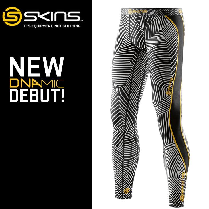 スキンズ メンズ ロングタイツ skins DNAmic Long Tights COLLABO ZK9905001【正規品】 コンプレッション インナー