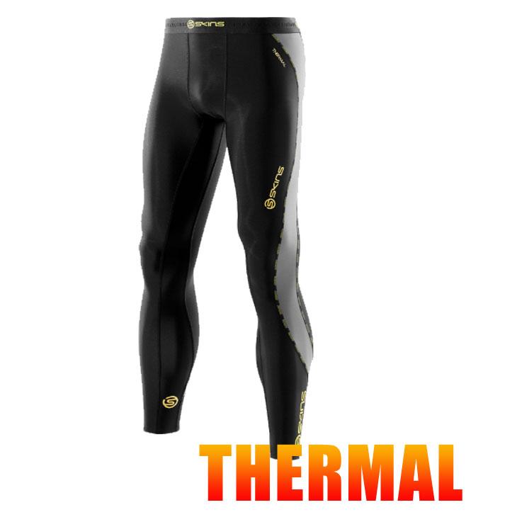 スキンズ メンズ サーマル ロングタイツ skins DNAmic コンプレッション 【正規品】【冬モデル】DK0001001