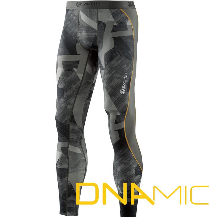 スキンズ ディーエヌエーミック skins DNAmic メンズ ロングタイツ D79905001F Newカラー(HVN)【正規品】 コンプレッション インナー 【メール便可】