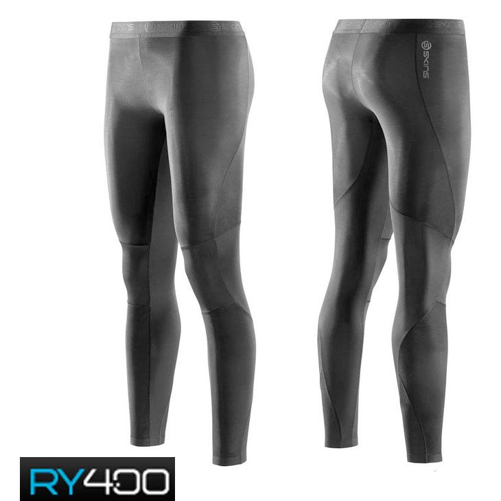 skins RY400 ウイメンズ ロングタイツ (スキンズ )レディース・女性用 K480010001D コンプレッション インナー リカバリー