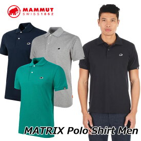 MAMMUT マムート メンズ ポロシャツ MATRIX Polo Shirt Men 1017-00400 正規品