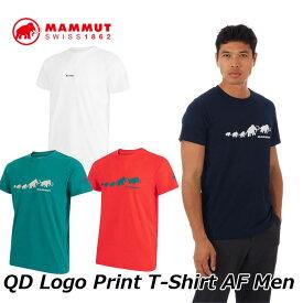 MAMMUT マムート メンズ Tシャツ QD Logo Print T-Shirt AF Men 1017-02010 正規品