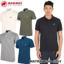 MAMMUT マムート メンズ ポロシャツ MATRIX Polo Shirt Men 正規品 ship1
