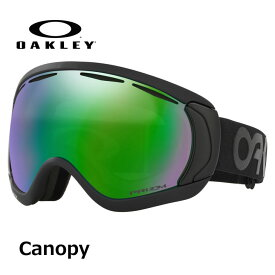 18-19 OAKLEY オークレー スノーゴーグル Canopy factory pilot blackout_Prizm Jade iridium (Asia Fit)プリズムレンズ ship1【返品種別OUTLET】