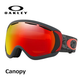 18-19 OAKLEY オークレー スノーゴーグル Canopy Camo Vine Night_Prizm torch iridium (Asia Fit)プリズムレンズ ship1【返品種別OUTLET】
