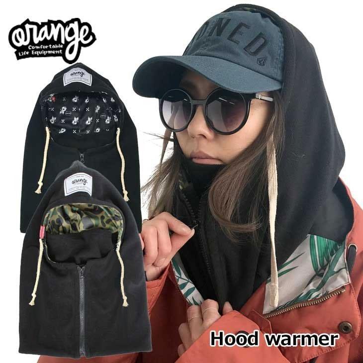 ORANGE (オレンジ ) 18-19 モデル ORAN'GE フードウオーマー 【#080638】Hood warmer】