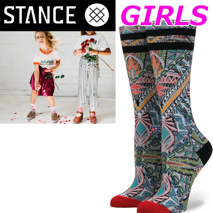 stance キッズ 靴下 スタンス ソックス GIRLS Light Cushion 【MAJESTIC 】tall boot ひざ下「メール便」