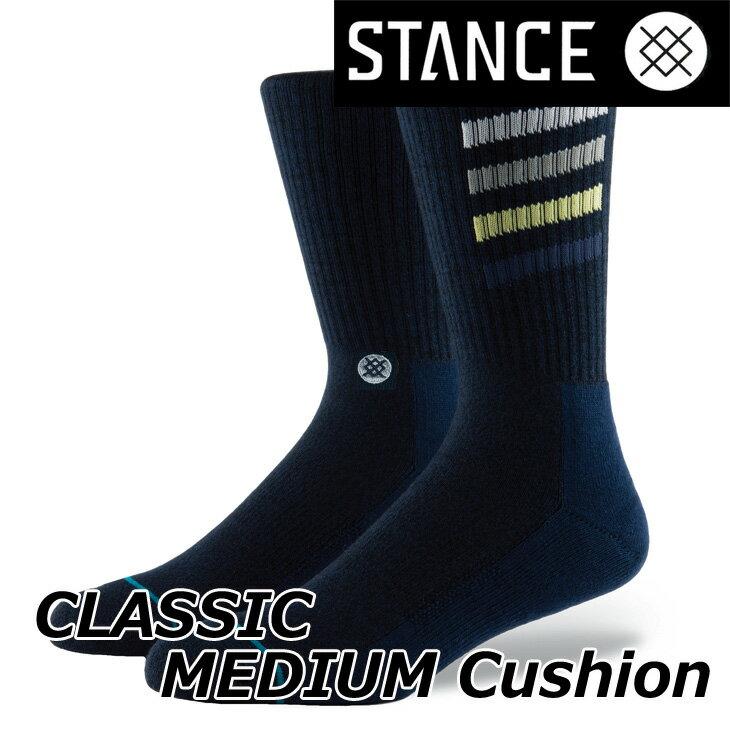 STANCE スタンス ソックス カジュアル 【CLASSIC MEDIUM Cushion 】 【CROTON】クルー ふくらはぎ丈「メール便」