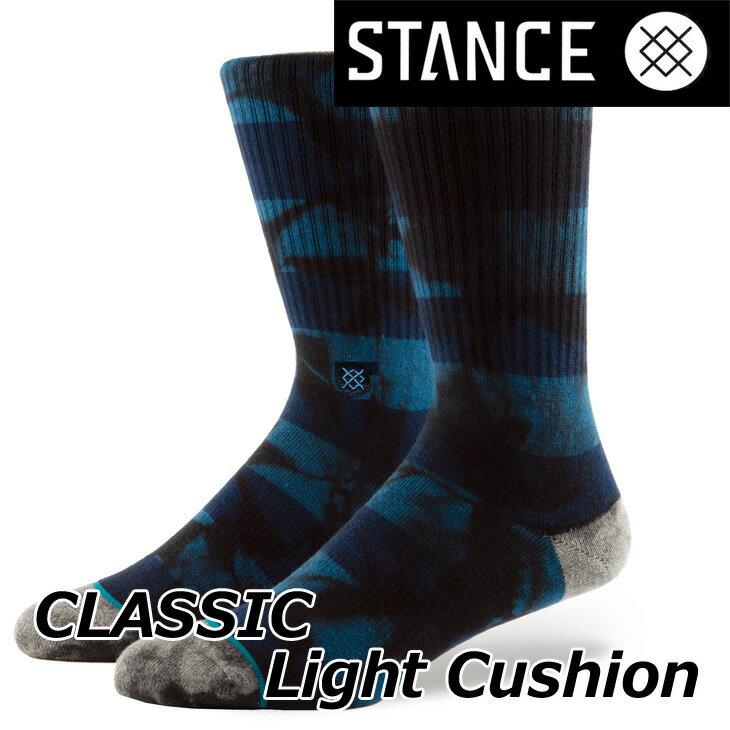 STANCE スタンス ソックス カジュアル 【CLASSIC Light Cushion 】 【WELLS】クルー ふくらはぎ丈「メール便」