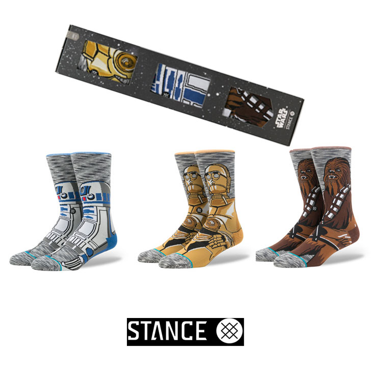 STANCE スタンス STARWARS×STANCE 公式コラボレーションソックスSIDEKICK 3 PACK ship1