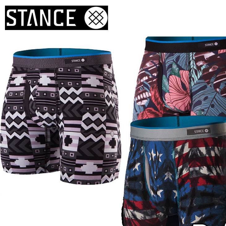 STANCE スタンス ボクサーパンツ 【BOXER BRIEF】 COMBED COTTON 【箱をたたんでメール便可】