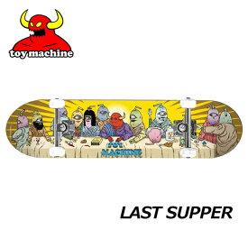 スケートボード コンプリート TOY MACHINE トイマシーン LAST SUPPER 【7.875x31.25】 ship1 純正品