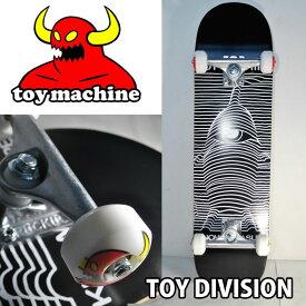 スケートボード コンプリート TOY MACHINE トイマシーン TOY DIVISION BLACK 【8.0x31.53】 トイディビジョンブラック ship1 純正品