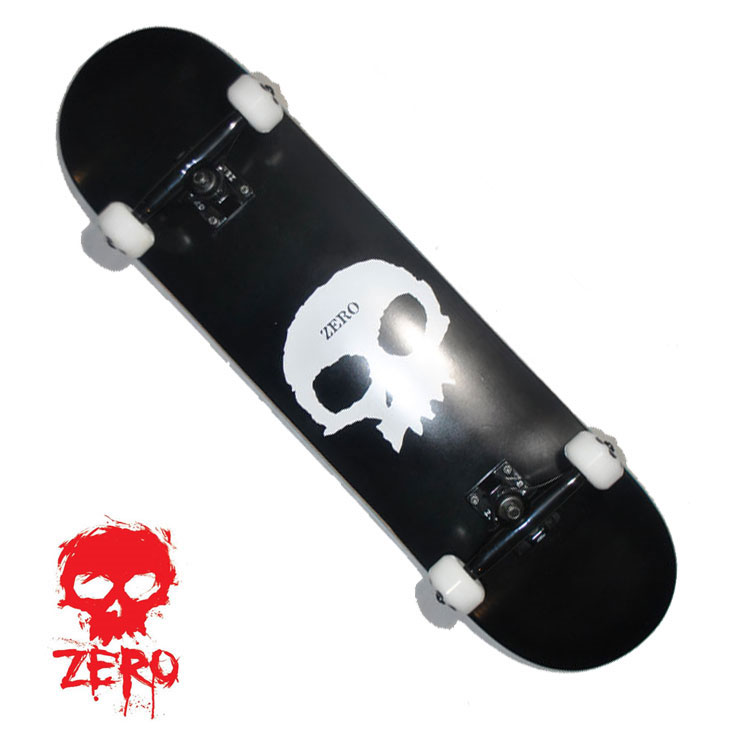 スケートボード コンプリート ZERO ゼロ SINGLE SKULL 8.0 シングルスカル 完成品 ship1