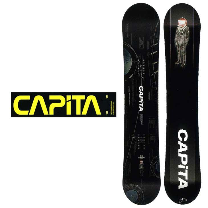 18-19 CAPiTA ( キャピタ )【OUTERSPACE LIVING 】 アウタースペース リビング スノーボード 板 snow board 予約販売品