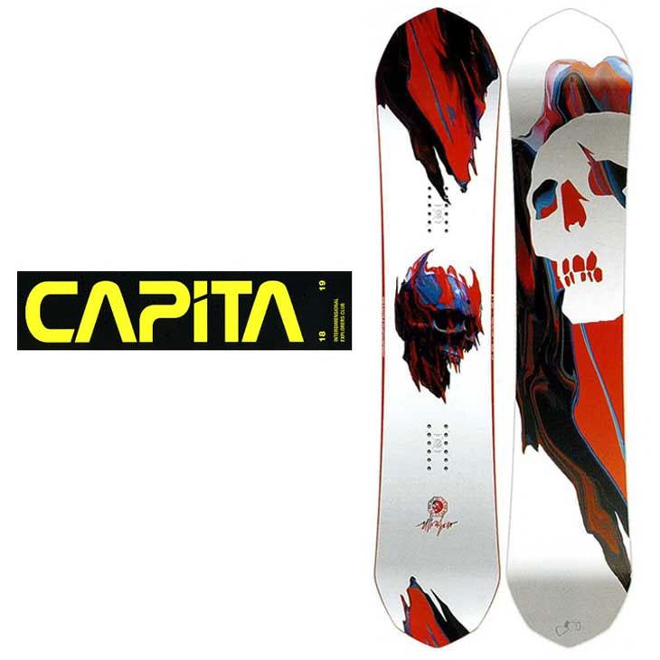 18-19 CAPiTA ( キャピタ )【ULTRAFEAR Japan Limited 】 ウルトラフィアー スノーボード 板 snow board 予約販売品