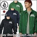 volcom JapanLimited ボルコム ジャケット メンズ 【新作】【Stay Stoned Coach Jacket 】 コーチジャケット アウター...