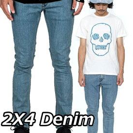 ボルコム デニム パンツ メンズ VOLCOM DENIM JEANS 【2X4 Denim 】CLU (COOL BLUE) volcom【返品種別OUTLET】