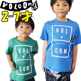 VOLCOM ボルコム キッズ ティ 【Y【Saturday S/S Tee Little Youth 】Kids tシャツ 3-7才向け【半袖】  ヴォルコム 「メール便可」【返品種別OUTLET】