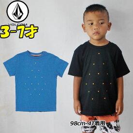 VOLCOM ボルコム キッズ tシャツ 【Rotate S/S 】Kids ティーシャツ 3-7才向け(100/110/120/130/140 cm )【半袖】 「メール便可」【返品種別OUTLET】