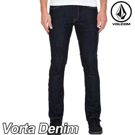 ボルコム デニム パンツ メンズ VOLCOM DENIM JEANS 【Vorta Denim(32) 】RNS (RINSE) volcom【返品種別OUTLET】