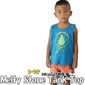 VOLCOM ボルコム キッズ タンク 【Melty Stone Tank Top 】Kids タンクトップ 3-7才向け(100/110/120/130/140 cm ) 「メール便可」【返品種別OUTLET】