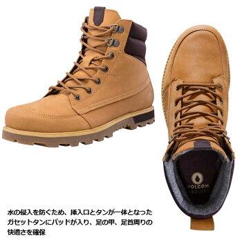 volcomボルコムスニーカーメンズ【SubZeroBoot】カラー【WHEAT】シューズ靴ブーツ【あす楽_年中無休】