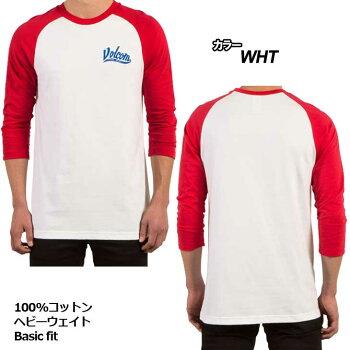 VOLCOMボルコムtシャツ七分丈ロンTメンズ【Swift3/4RaglanTee】長そで【メール便不可】