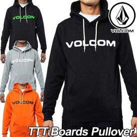 VOLCOM ボルコム パーカー メンズ 【TTT Boards Pullover 】長そで プルオーバー 【返品種別OUTLET】