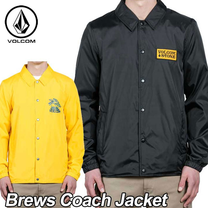 volcom ボルコム コーチ ジャケット メンズ 【Brews Coach Jacket 】 アウター トップス 【返品種別OUTLET】