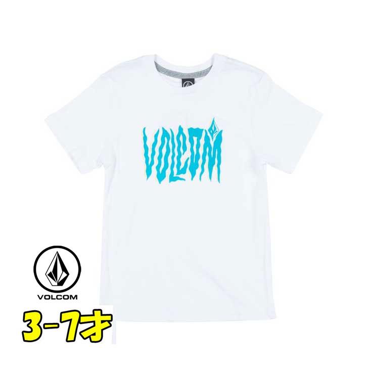 VOLCOM ボルコム キッズ tシャツ 【Steam S/S 】Kids ティーシャツ 3-7才向け(100/110/120/130/140 cm )【半袖】 「メール便可」【返品種別OUTLET】