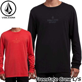 volcom ボルコム ロンT Freestate Crew L/S メンズ 長袖 A0331800 【返品種別OUTLET】