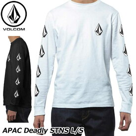 volcom ボルコム ロンT APAC Deadly Stones L/S メンズ 長袖 AF631702 JapanLimited 【返品種別OUTLET】