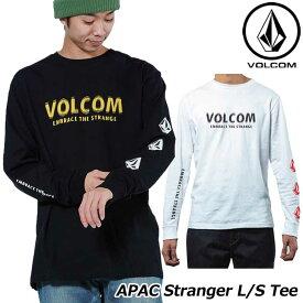 volcom ボルコム ロンT APAC Stranger L/S Tee メンズ 長袖 AF631702 JapanLimited 【返品種別OUTLET】