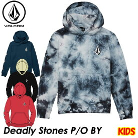 volcom ボルコム キッズ パーカー Deadly Stones P/O BY 8-14歳 C4131805 【返品種別OUTLET】
