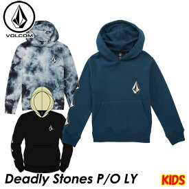volcom ボルコム キッズ パーカー Deadly Stones P/O LY 3-7歳 Y4131805 【返品種別OUTLET】