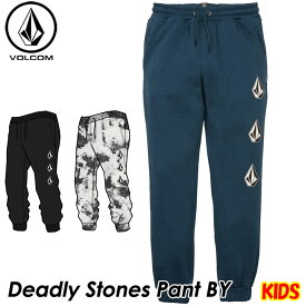 volcom ボルコム キッズ スウェットパンツ Deadly Stones Pant BY 8-14歳 C1231802 【返品種別OUTLET】