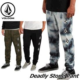 volcom ボルコム スウェットパンツ Deadly Stone Pant メンズ A1231802 【返品種別OUTLET】