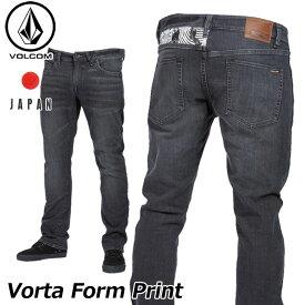 volcom ボルコム デニムパンツ Vorta Form Print メンズ japan limited A19318JA 【返品種別OUTLET】
