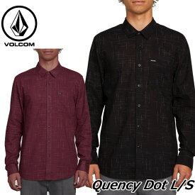 volcom ボルコム シャツ Quency Dot L/S メンズ 長袖 A0541801 【返品種別OUTLET】