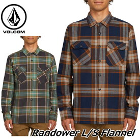 volcom ボルコム シャツ Randower L/S Flannel メンズ 長袖 A0541803 【返品種別OUTLET】