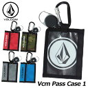 18-19 volcom ボルコム パスケース スノーボード 【Vcm Pass Case 1 】JapanLimited J67519JF 【返品種別OUTLET】