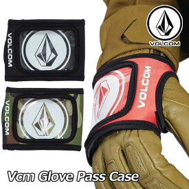 18-19 volcom ボルコム パスケース スノーボード 【Vcm Glove Pass Case 】JapanLimited J67519JI 【返品種別OUTLET】