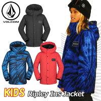 18-19VOLCOMボルコムキッズウェアスノーボードジャケット【RipleyInsJacket】I0451903予約販売品