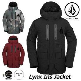 18-19 VOLCOM ボルコム スノーウェア メンズ スノーボード ジャケット 【Lynx Ins Jacket 】G0451909 ship1【返品種別OUTLET】